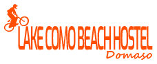 Lake Como Beach Hostel Domaso Logo